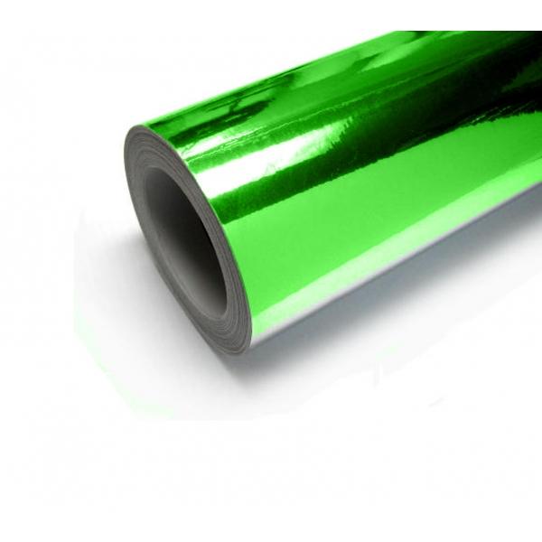 DipWraps chicago green chrome vinyl vehicle wrap material