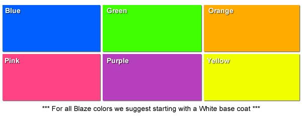 Blaze Plasti Dip Colors | DipWraps
